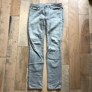 Joes Jeans Straight Leg Gray Jeans Size 28